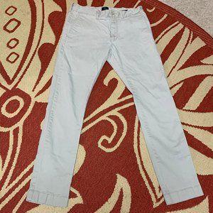 J. Crew Men's Flex Driggs Khaki Pants 29x30